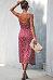 Spaghetti Strap  Asymmetric Hem  Dot  Sleeveless Maxi Dresses