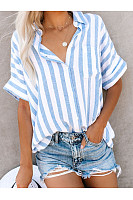 Striped Button-Down Shirts