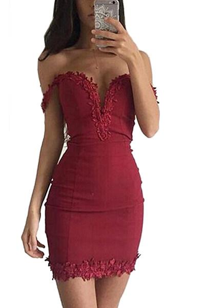 Sexy Sweet Heart Bodycon Dresses