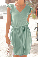 2020 Summer Solid Color Dress