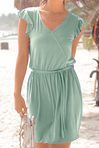 2020 Summer Solid Color Dress
