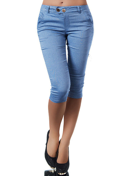 Stylish stretch slim jeans