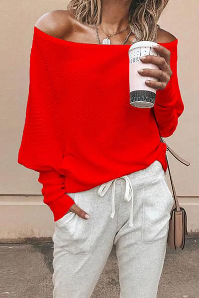 Women's Fashion Collar Knit Top