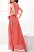 Round Neck  Plain  Sleeveless Maxi Dresses