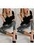 Glitter  Plain  Basic Leggings