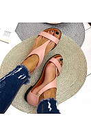Women's Comfortable Flat Open Toe Buckle Sandals