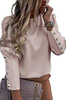Buttoned Long Sleeve Print Shirt