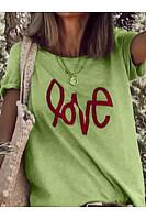 Casual Loose Short Sleeve Printed T-Shirt