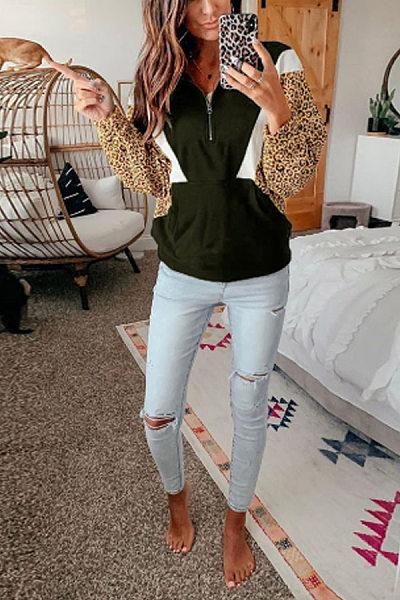 Women Casual Colouring Sweatershirt