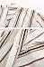 Surplice  Asymmetric Hem  Striped  Blouses