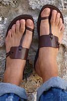 Plain Flat Peep Toe Casual  Comfort Sandals