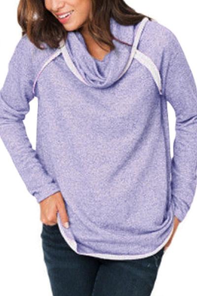 Ladies Fashion Long Sleeve Sweatshirt