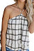 Halter  Backless  Gingham Camis