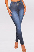 Women's Buttocks Denim Trousers