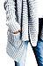 Cowl Neck  Patchwork  Plain  Batwing Sleeve Cardigans
