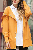 Japanese Casual Hooded Sweater Coat