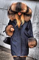 Women's fashion long sleeves long long hooded coat