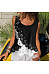 Casual Round Neck Sleeveless Splicing Hollow Out Top