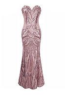 Sequins Sweet Heart Mermaid Party Dresses