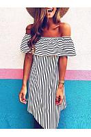 Striped Vacation Mini Dress