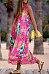 Bohemia Halter Neck Floral Print Vacation Maxi Dress