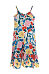 Spaghetti Strap  Backless  Color Block  Sleeveless Maxi Dresses