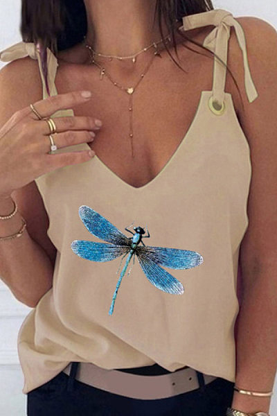 Dragonfly Bow Knot Camisole