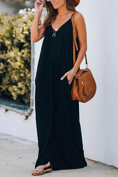 https://www.luvyle.com/v-neck-solid-color-sleeveless-maxi-dress-p-87679.html