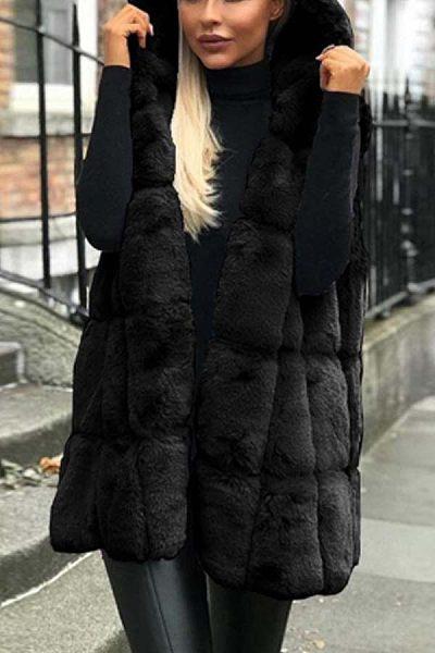 Women Casual  Plain Vests