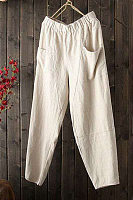 Women Plian Casual Pants