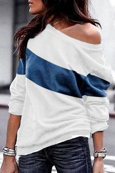 Casual Colouring  Long Sleeve T-Shirt