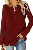 Casual Plain Knit Shirts