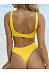 Spaghetti Strap  Bowknot  Plain Bikini