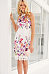 Lace Halter Printed Bodycon Dresses