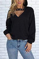 Hooded Blend  Plain  Basic Sweatshirts