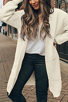 Women Casual Plain Color Cardigans