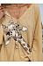 Solid Color Giraffe Printed Loose T-shirt