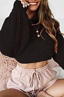 Women Sweet Plain Sweaters