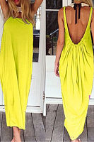Open Back Full Length Sundress