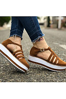 Womens fashion comfortable platform sneakers